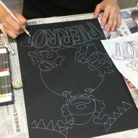 チョークアート,奈良,ぎんのいすARTWORKS