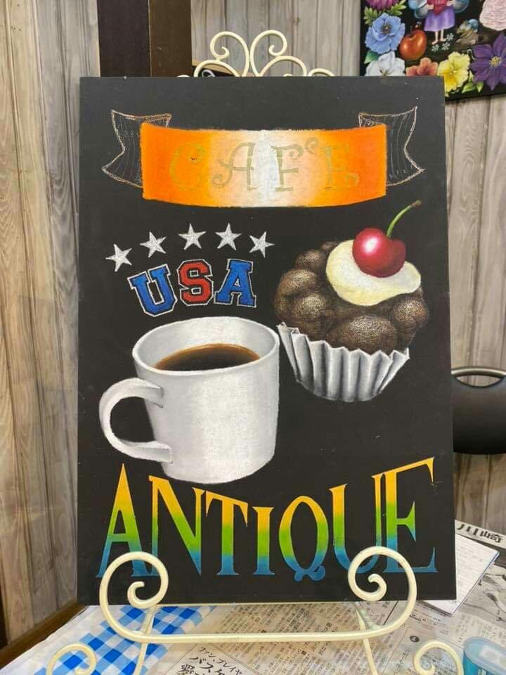 チョークアート  chalkart  サインボード  カフェボード  カップケーキ