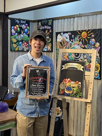 チョークアート 教室 奈良大阪京都
