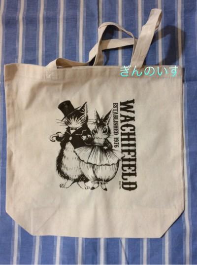 奈良雑貨屋ぎんのいす 猫のダヤン マーシーズバースデイトートバッグ
