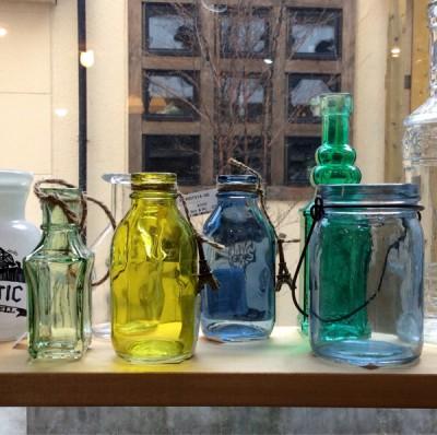 奈良王寺雑貨屋ぎんのいす・ガラスの小瓶