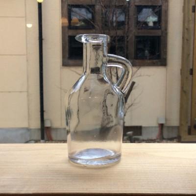 奈良王寺・雑貨屋ぎんのいす商品紹介取っ手付ガラスの小瓶