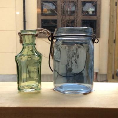 奈良王寺・雑貨屋ぎんのいす商品紹介カラーガラスの小瓶