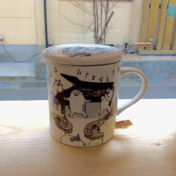 奈良王寺・雑貨屋ぎんのいす・猫マグ