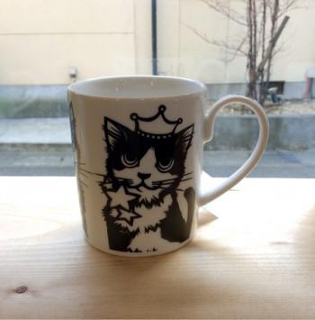 奈良王寺雑貨屋ぎんのいす・猫マグ・ロイヤルファミリー