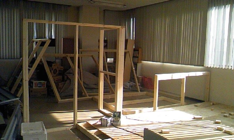 試しに仕切り部屋を作ってみた*自宅リフォーム編4/ぎんのいすへの道