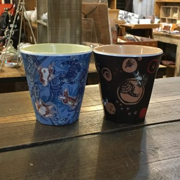 奈良 雑貨屋 王寺駅前 ぎんのいす 猫のダヤン わちふぃーるど メラニンカップ
