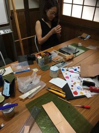 奈良 王寺 レザー教室